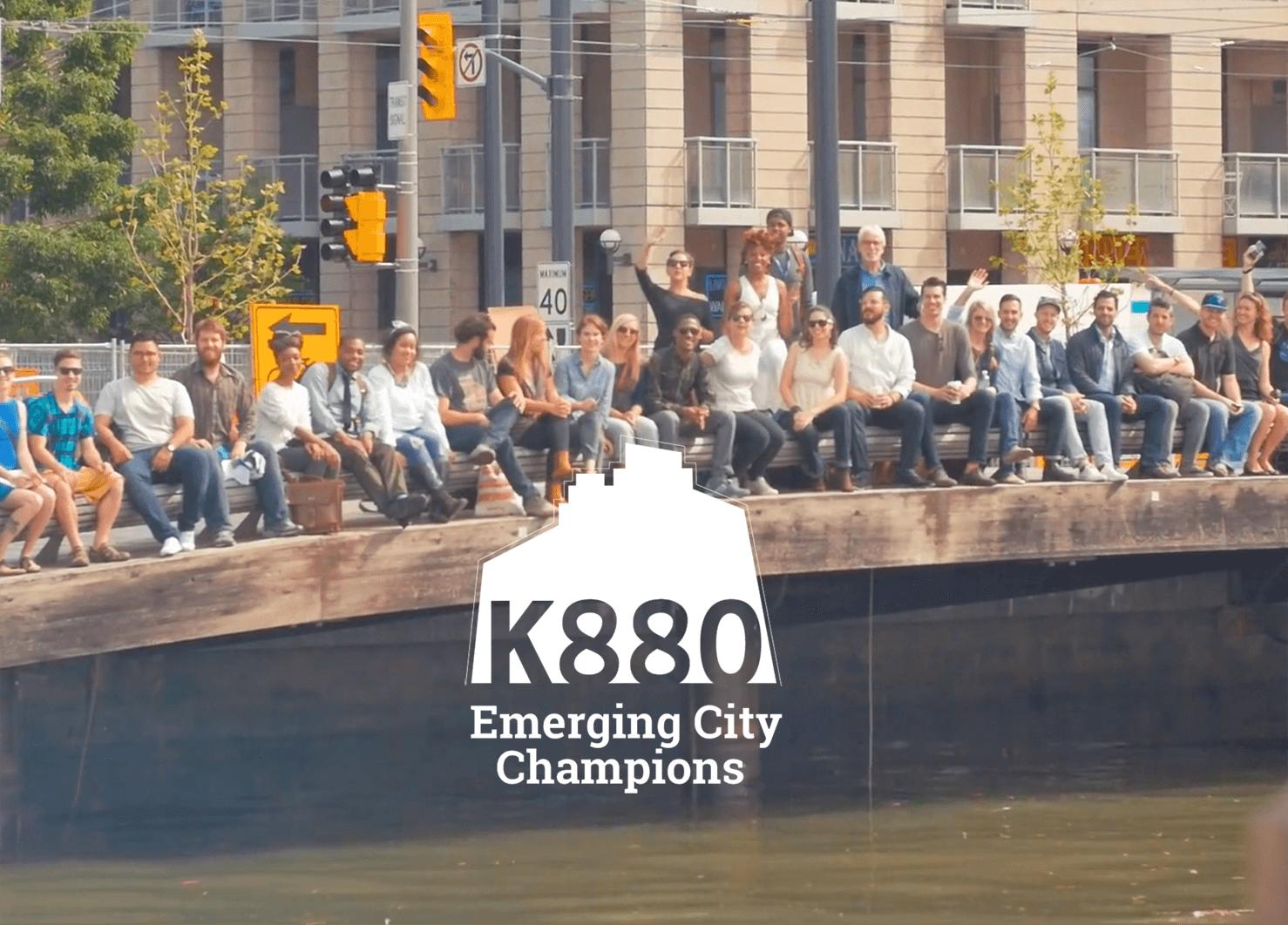 K880 Emerging City Champions